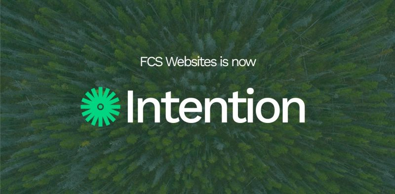 eco web design from intention